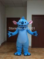 POLYFOAM high quality costume big ear blue monster mascot costumes