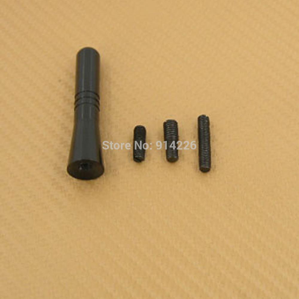 "Car Designer aerials 2.4"" 6cm Short Screw Car Antenna Conversion Type Black For LX570 2008-2011(China (Mainland))"