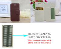 Free Shipping 5.0 Inch Phone Flip Leather Case Cover For ZP 810 New Top Quality For ZOPO 810 Book Style Cases 4 Color Hot sell