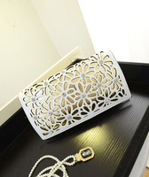 2014 women's shoulder bag cross-body bags vintage cutout carved women 's day clutch women's the trend of fashion handbag