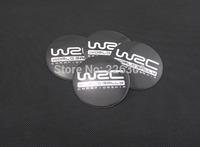 Wholesale New A Set Of 4pcs 56mm CAR Auto Tyre Wheel Center Hub Cap Hubcap Stickers Emblems Badge Decal Fit WRC 1