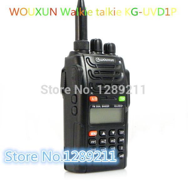 Фото Wouxun Walkie Talkie Uvd1p 128ch + A0866a 5w KG-UVD1P