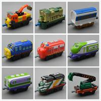 Small boy,girl kids' scale diecast model toy;child mini metal vehicle locomotive brinquedos;special Tomy chuggington trains set