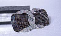 Full  Crystal bow card Full  hairpin Spring headdress  head buckle Accessories