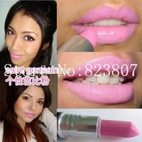 Wholesale Brand Makeup Cosmetics Lasting Lipstick High Quality 3G Light Pink Lipstick 1PCS