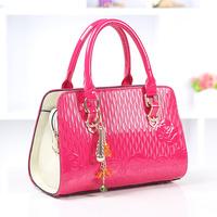 New arrival 2014 women's handbag fashion vintage noble elegant shoulder bag casual handbag messenger bag