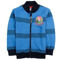 2014 New children outerwear,peppa pig stripe boy coat,boy clothing Wu children clothing,free shipping