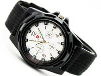 2014 New Men's watch Woven strap quartz JunBiao sports watch Wholesale