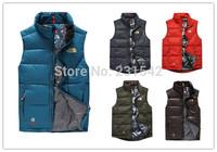 2014 Man Brand Winter Warm Natural Duck Down Vest Jacket Men Spring Autumn Fashion Outdoor Sports Waistcoat Male Parka