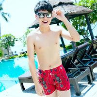 Men's swimwear male trunk boxer swimming trunks comfortable type men's swimming pants