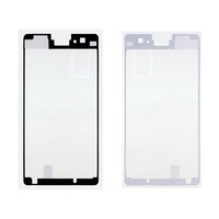 Free Shipping for Sony Xperia Z1 Compact D5503 Z1 Mini Original Sticker Front LCD Supporting Frame Housing Adhesive Sticker