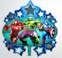Free Shipping 50 pcs/Lot,the Avengers balloons