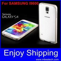 wholesale free shipping 10 pcs/lot for samsung galaxy s5 i9600 aluminium metal bumper frame ultra thin 0.7mm