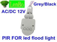 Sensor switch  PIR for AC/DC12V LED floodlight  10w 20w 30w 50w  LED human infrared sensors PIR for floodlights