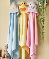2014 new arrival 3pcs/lot  high quality  100% cotton Cartoon baby towel  infant bath towel newborn blanket baby towel