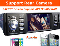 Support Rear Camera Car Stereo MP3 MP4 Player 12V Car Audio Video MP5 FM Transmitter USB/SD/MMC/1 Din In-Dash/Remote Control