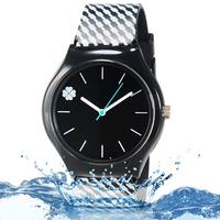 Willis quartz wrist watch women sports watches is running Four Leaf Clover Design Water Resistant Wrist Watch with
