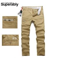 2014 New Spring Boy Sweatpants, Male Thin Causal Sports Pants, Leisure Trousers Men's Cotton Brand Pants 2 colors