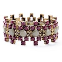 2014 New Bohemian style vintage Fashion luxury crystal gem bead  flower bracelets & bangles Nepal Tibetan bracelet Free Shipping