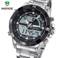 WEIDE Men Sports Watch Multi-function Military Watch for Men Japan Quartz  Classic Design 12-month Guarantee 3ATM #WH1104Black