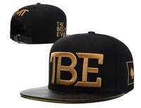 TBE leather brim snapbacks TMT  Snapback caps black mens & womens fashion baseball cap without MOQ Freeship