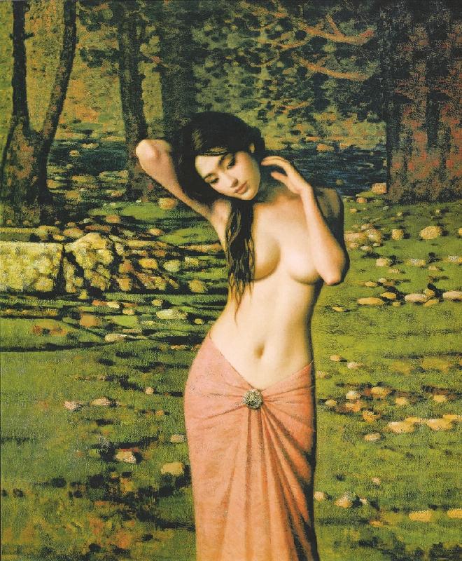 Beautiful Nude Lady 36