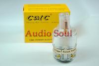 Audio Soul CMC Ti2000M Top Audio grade Pure Red Copper IEC Connector  white