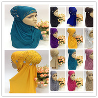 SYF062 rhinestones muslim hijab,islamic scarf free shipping by DHL,fast delivery,assorted colors