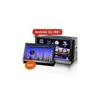 "WBT7037A 7"" HD DVR Android Car Headunit GPS MID PAD with 3G/WIFI/GPS/DVD/RDS/BT/ipod/HDMI output/steering wheel control."