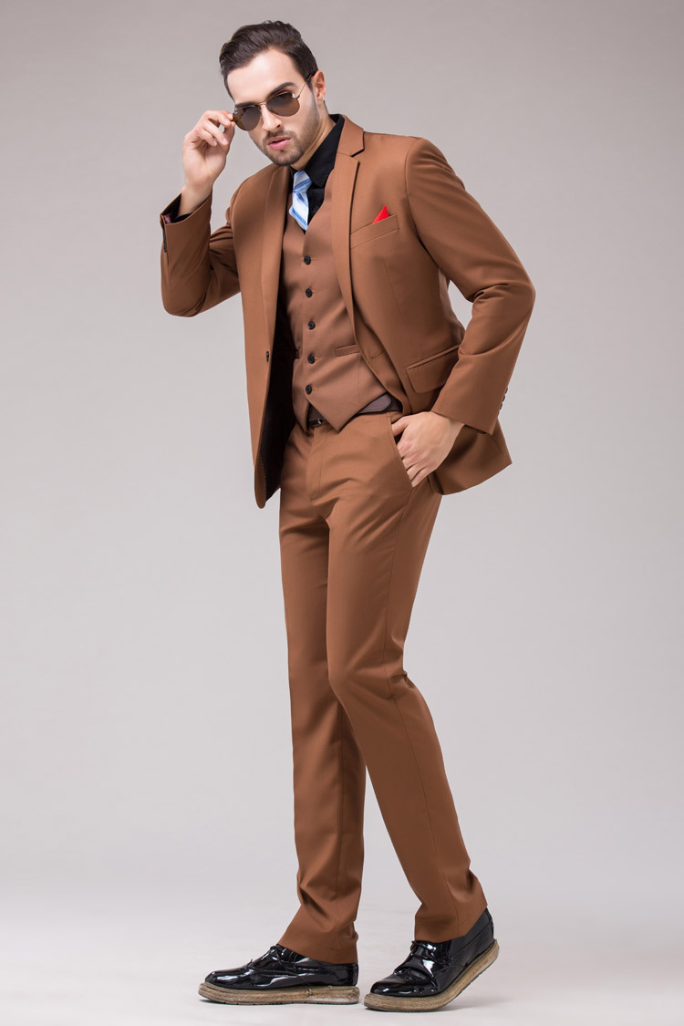 Wedding Suit For Men Brown Wedding Suits For Men 2014
