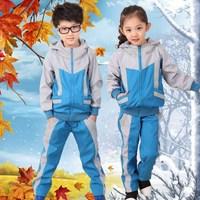 Spring school uniform park service fashion sports school uniform set