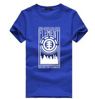 Skateboard Brand hip hop element t-shirt short sleeve men t shirt BBOY Tee Element Free Shipping