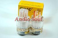 Audio Soul CMC Ti2000M Top Audio grade Pure Red Copper US AC power plug IEC connector pair white