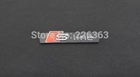 wholesale 3D Car Emblem Badge Decal Sticker Nameplate for Front Hood or Rear Trunk Fit S LINE SLINE S