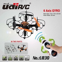 Udi U830 RC Helicopter 2.4GHz G-sensor Remote Control Quadcopter 4-Axis 360-degree Rotating RC UFO