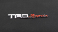 wholesale 3D Car Emblem Badge Decal Sticker Nameplate for Front Hood or Rear Trunk Fit TRD sportiv