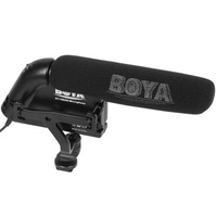 The BOYA BY-VM200 Video Condenser Microphone for 3.5mm Plug Cameras, SLR Cameras, Camcorders