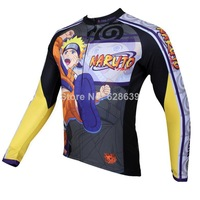 Hot sale 2014 New Men cycling jersey Long Sleeve Rider clothing PaladinSport The Naruto S-3XL