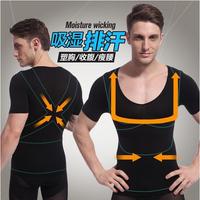 undershirt shirt men body shaper body girdles men cueca squeem waist cincher cintos para homens cheap