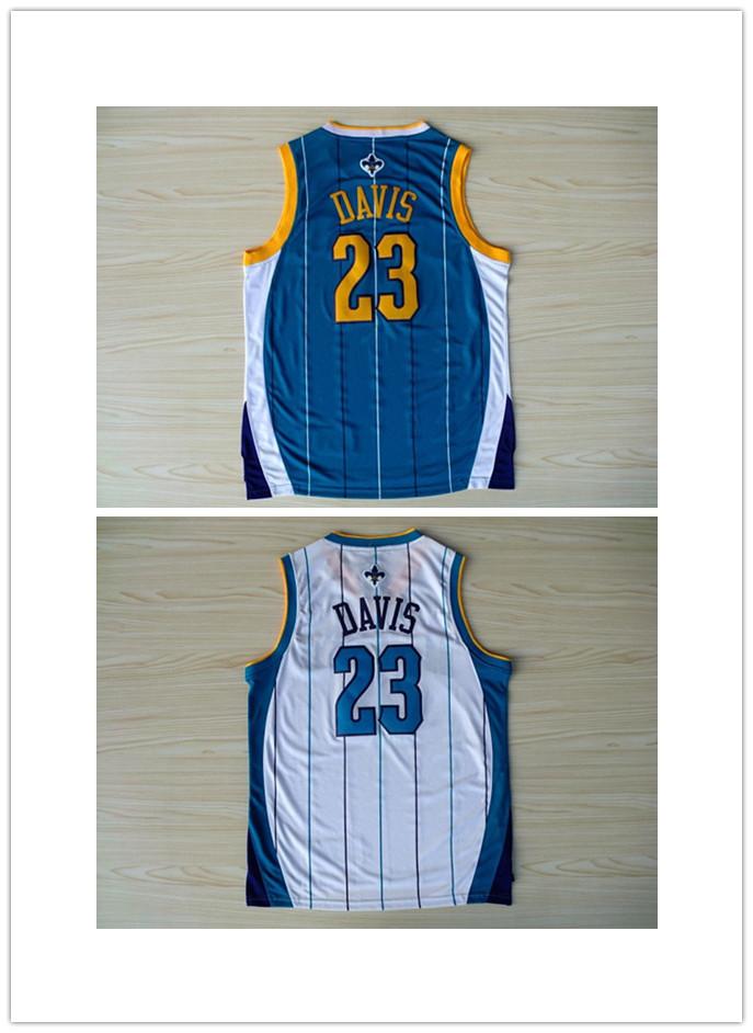 Free shipping New Cheap men Basketball Jerseys Charlotte Hornets #23 DAVIS Basketball Sports Basketball Jersey Embroidered Logo(China (Mainland))