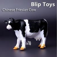 Free shipping Blip (Genuine bulk) Holstein Animal model simulation solid educational Toy for children
