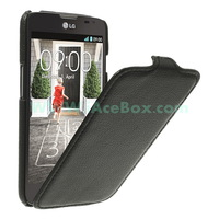 for LG L70 cover,Litchi Texture Vertical Flip Leather Cover for LG L70 D320 Free Shipping