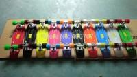 "200pcs  22"" 2013  Mini Cruiser  Plastic Skateboard  by sea to Long beach USA"