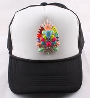New 2014 shourouk Charm beads hat special cap noble top hat wedding party women men's peaked cap fashion