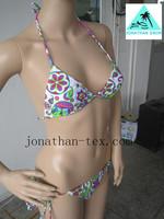 bright color sexy beautiful ladies bikini swimwear
