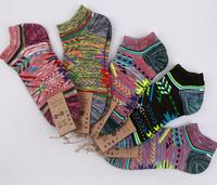 2014 New National style Restoring ancient Casual Males Socks mixed colors quality guarantee Men's ship socks ,1lot Free Shipping