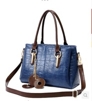 2014 spring and summer women's handbag stone pattern fashion handbag cross-body bags large fashion shoulder bag