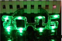 2015 flash glasses New Year's eve party  LED Flash Glasses For Dances / Party Supplies   Glow Mask Christmas Halloween