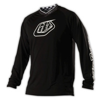 Hot sale! Troy Lee Designs TLD GP Midnight Motocross Jersey/MX MTB Cycling Bicycle Bike Jersey T-shirt Clothing Wear Black wihte