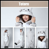 eshop Cute Totoro Kigurumi Pajamas Unisex adult animal onesies Cosplay party halloween costumes for women wholesale